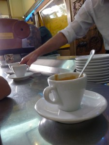 Coffee bar at Sant'Eustachio