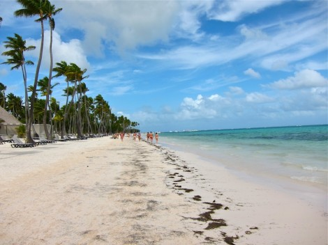 The beatch at Barcelo Bavaro Palace Deluxe