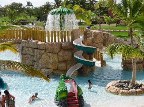 Barcelo Bavaro Palace Deluxe's Kids' Water Park
