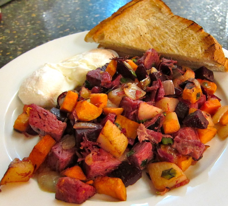 The Comfort Diner's Great Recipe for Red Flannel Hash | Sweet Leisure