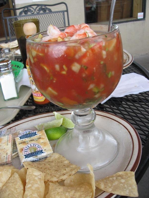 shrimp cocktail avocado