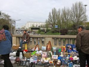 Bric-à-brac at Marché aux Puces de la Porte de Vanves