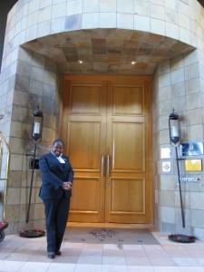 At The Saxon Door
