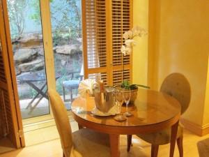 Saxon Suite Dining Area