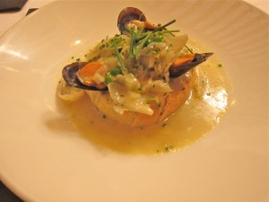 Mussel Soup from Qunu Grill