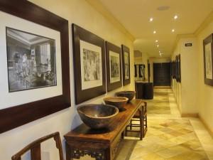 Hallway of Saxon Hotel