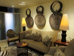 Sitting Area At Saxon Hotel