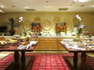 Breakfast Buffet at the Saxon Hotel