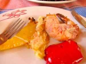 Pineapple Shrimp by Susan Manlin Katzman