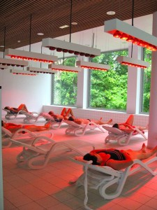 Relaxing Area at Thermes de Spa