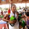 Vendor at Maguey Bay by Susan Manlin Katzman