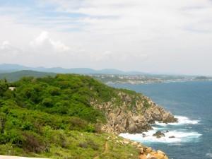 Huatulco Coast by Susan Manlin Katzman