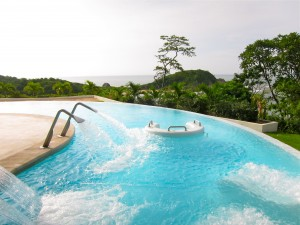 Hydrotherapy Pool at Secrets Huatulco Spa by Susan Manlin Katzman