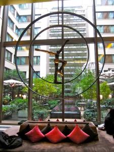 Lobby of Mandarin Oriental by SmKatzman
