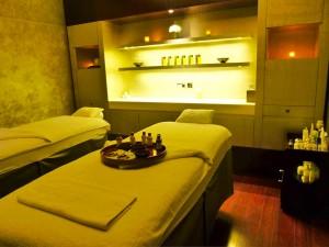 Treatment Room in Spa of Mandarin Oriental Paris by Susan Manlin Katzman