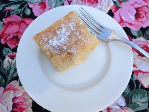 Piece of Gooey Butter Cake by Susan Manlin Katzman