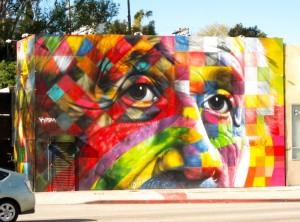 Los Angeles Drive By Art/photo S.M. Katzman