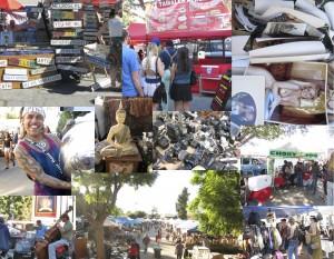 Melrose Trading Post Sunday flea market