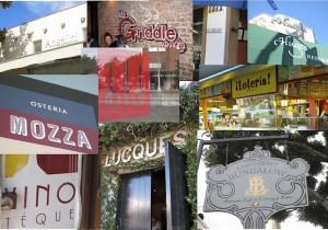 Restaurant collage by SM Katzman