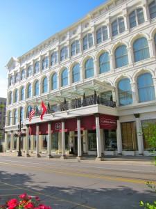 Exterior of The Capital Hotel by Susan Manlin Katzman