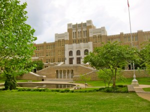 Central High School, Little Rock  by S.M. Katzman
