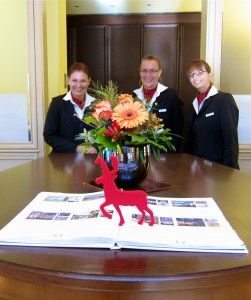 Front Desk Staff at Wald & Schlosshotel