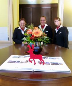 Front Desk Staff at Wald & Schlosshotel