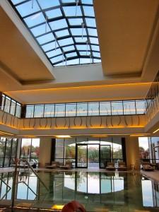 Indoor Spa Pool at Wald & Schlosshotel