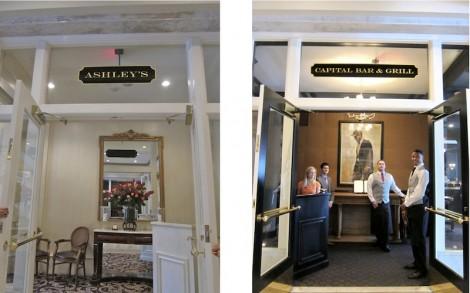 Capital Hotel Restaurant by S.M. Katzman