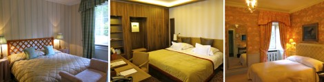 Rooms at Wald & Schlosshotel