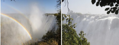 Victoria Falls Collage by Susan Manlin Katzman