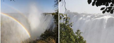 Victoria Falls Collage by Susan Manlin Katzman