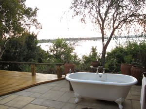 Outdoor Bubble Bath