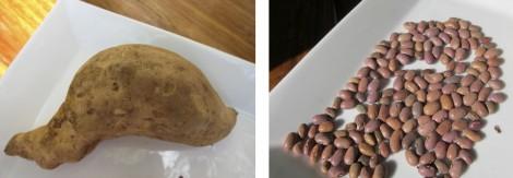 Zambian Sweet Potato and Beans