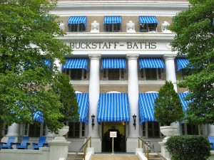 Buckstaff Bathhouse in Hot Springs, Arkansas