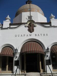 Quapaw Bathhouse by Susan Manlin Katzman