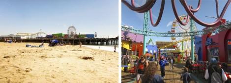 Santa Monica Pier by Susan Manlin Katzman