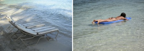 Beach and Water Collage by Susan Manlin Katzman
