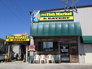 Phil's Fish Market and Eatery in Moss Landing by Susan Manlin Katzman