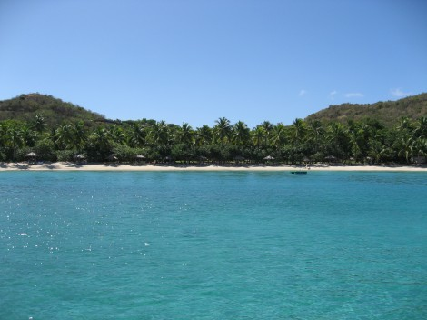 View of Little Dix Bay Resort