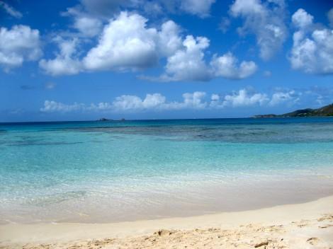 Sea, Sand and Sunshine at Little Dix Bay by Susan Manlin Katzman