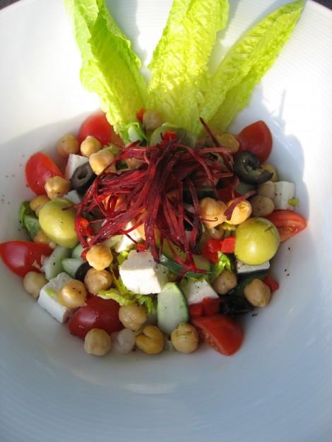 Little Dix Island Tofu Salad by Susan Manlin Katzman