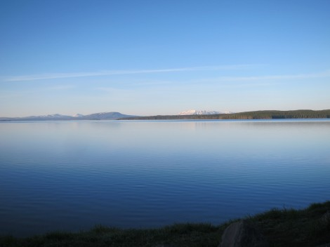 Yellowstone Lake by Susan Manlin Katzman