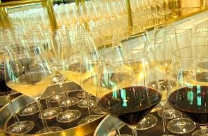 Glasses of Wine by Susan Manlin Katzman