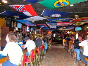 Inside Silver Dollar Bar & Grill