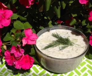 Iced Cucumber Soup by Susan Manlin Katzman