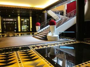 Stairway at Hôtel du Collectionneur by Susan Manlin Katzman
