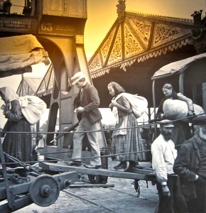 Photo of Emigrants on Display at the Red Star Line Museum in Antwerp, Belgium