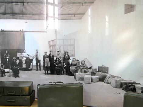 Photo of Passengers at the Red Star Line Museum in Antwerp, Belgiium