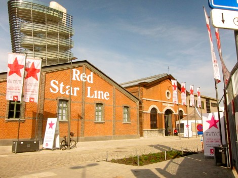 Exterior or the Red Star Line Museum